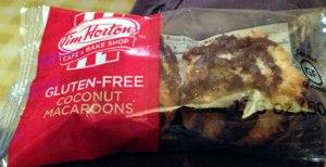 hortons-gluten-free-macaroon